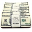 Stack of dollars - Foto Stock