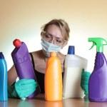 Woman Housework — Stock Photo
