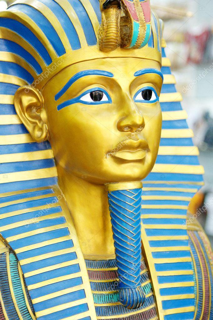 Маска фараона из бумаги