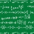 Mathematics background — Stockvektor