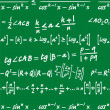 Mathematics background — Stock vektor