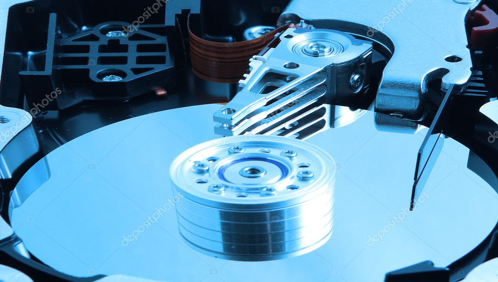 Color Computer Hard Drive — Stock Photo #1916222