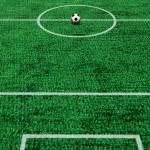 Football background — Stock Photo