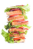 Super sandwich — Stock Photo