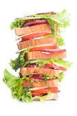 Super sandwich — Stock Photo