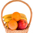 Royalty-Free Stock Photo: Basket with fruit