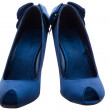 Dark blue shoes — Stock Photo #1835096