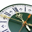 Stock Photo: Dial of analog watch with