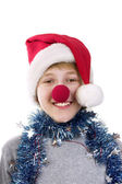 Christmas fancy dress — Stock Photo