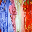 Silk dresses - Stock Photo