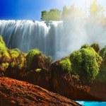 Слон водопад — Стоковое фото