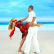 Couple dancing — Stock Photo #1630411