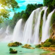 Stock Photo: Detian waterfall