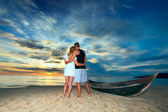 Romantic uninhabited island — Foto Stock