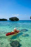 Kayaking — 图库照片
