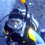 Scuba diver — Stockfoto #1838619