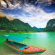 Thang Hen lake - Stock Photo