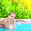 Stock Photo: Womin Jacuzzi