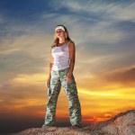 Military woman — Stock Photo #2569976