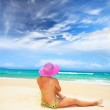 Woman on the beach — Stock Photo #2574888