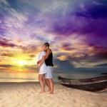 Romantic sunrise — Stock Photo