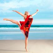 ženy tančí — Stock fotografie