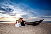 Romantic sunrise — Stock Photo