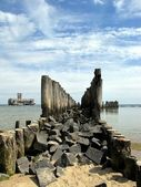 Breakwater — Foto de Stock