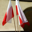 Stock Photo: Polish flags