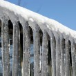 Winter icicles — Stock Photo #2034565