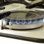 Burner gas stove — Stock Photo