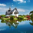 Sanphet Prasat Palace, Thailand - Foto Stock