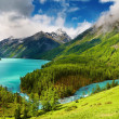 Mountain lake — Stock Photo #1593270