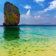 Tropical paradise, Poda Island, Thailand - Stock Photo
