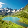Mountain lake — Stock Photo #1595788