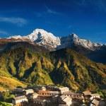 aldea del Himalaya, nepal — Foto de Stock