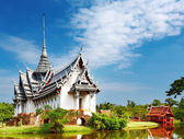 Sanphet prasat palace, thaïlande — Photo
