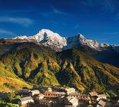 Himalayan village, Nepal — Stock Photo