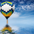 Royalty-Free Stock Photo: Hot air balloon