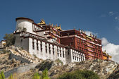 Potala palace in Lhasa — Stock Photo