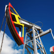 Oil pump jack - Foto Stock