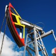 Oil pump jack - Stockfoto