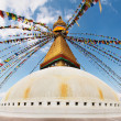 Buddhist temple Bodhnath - Stock Photo