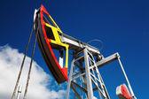 Oil pump jack — Stockfoto