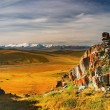 Stock Photo: Mountain view, Plateau Ukok