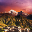 Stock Photo: himalayan fantasy