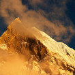 Sunset in Himalaya - Stock Photo