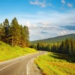 Royalty-Free Stock Photo: Mountain road