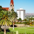 Windhoek capital of Namibia - Stock Photo