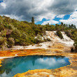 Hot spring, New Zealand — Stock Photo